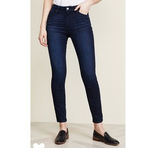 Paige Hoxton Ankle Skinny Jeans Luella Wash